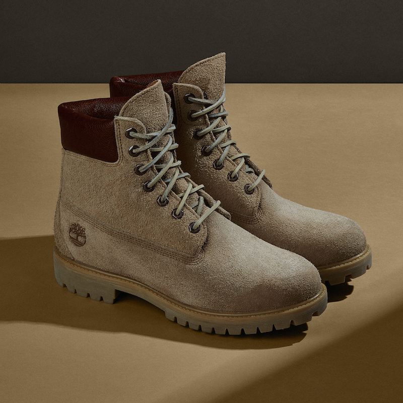 Timberland Beige 6-Inch Boots