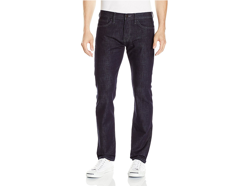 A|X Armani Exchange Straight-Fit Dark-Rinse Jean