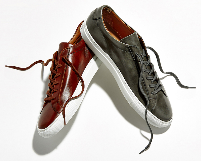 BNY Sole Series x Common Projects Achilles Leather Low-Top Sneakers