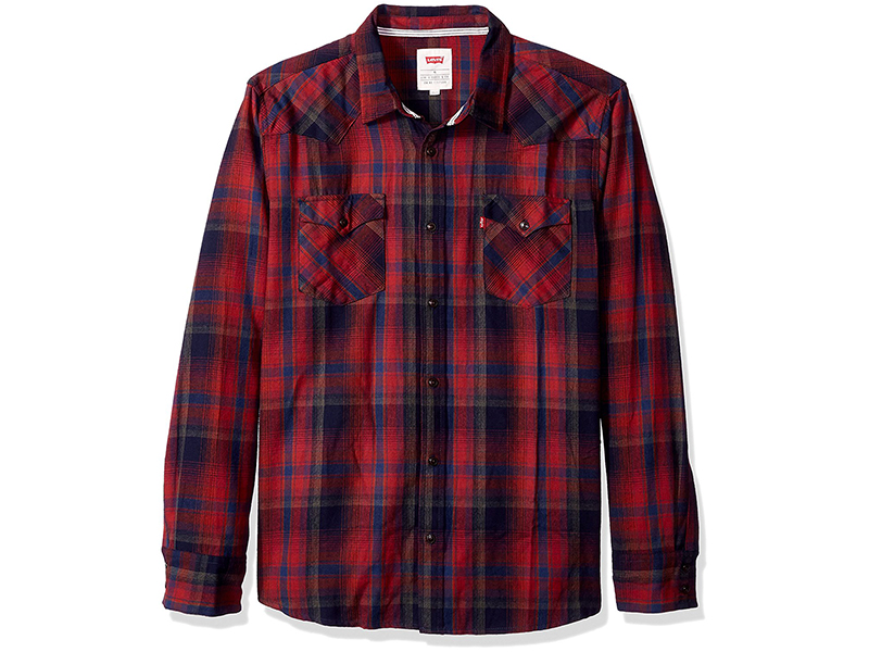 Levi's Albemarle Long Sleeve Flannel Woven