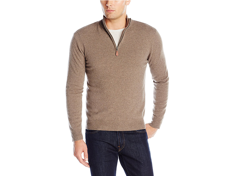 Williams Cashmere Cashmere Quarter-Zip Sweater