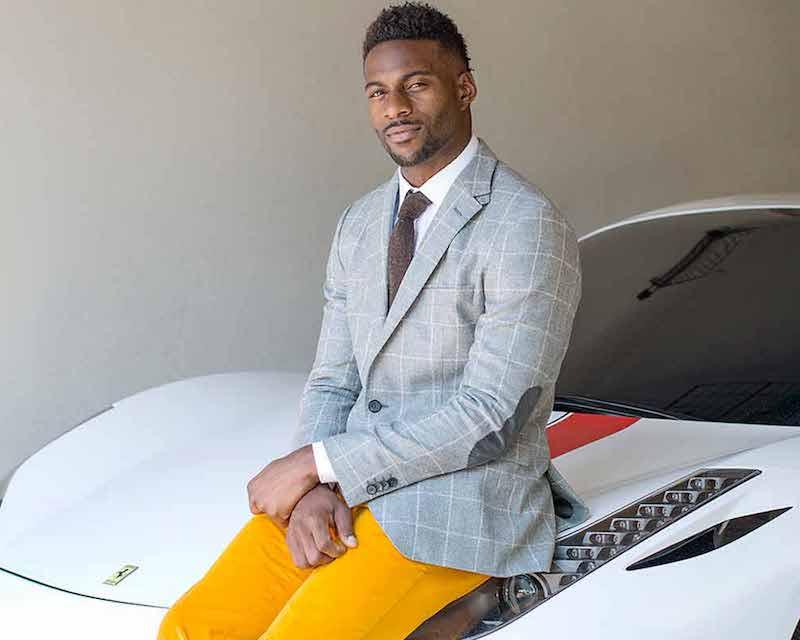 Boss Hugo Boss Jayson Windowpane Two-Button Sport Coat