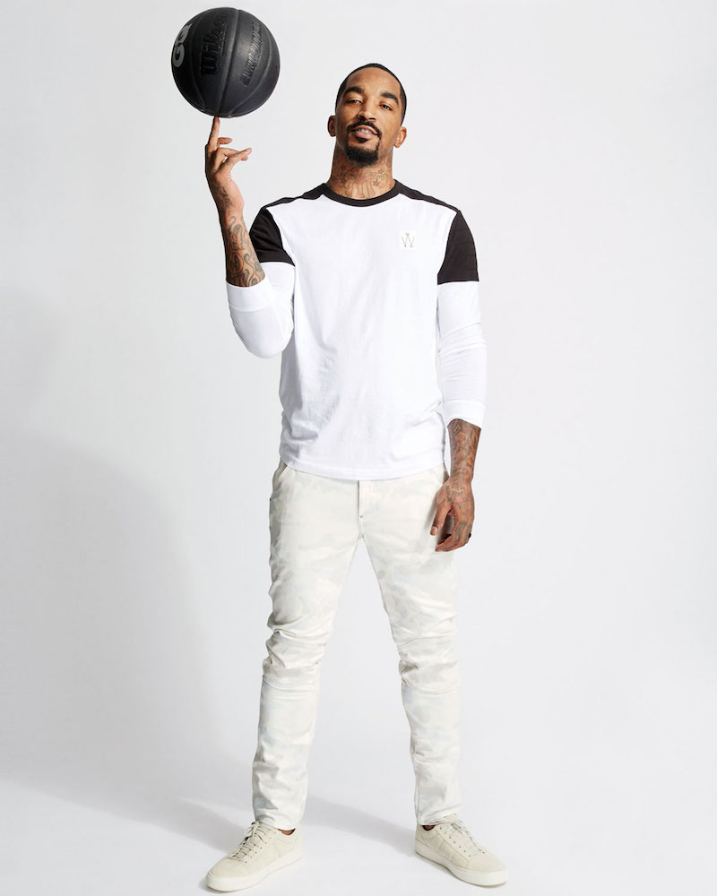 G-Star Lucas Relaxed Quilted-Contrast Jersey Long-Sleeve T-Shirt