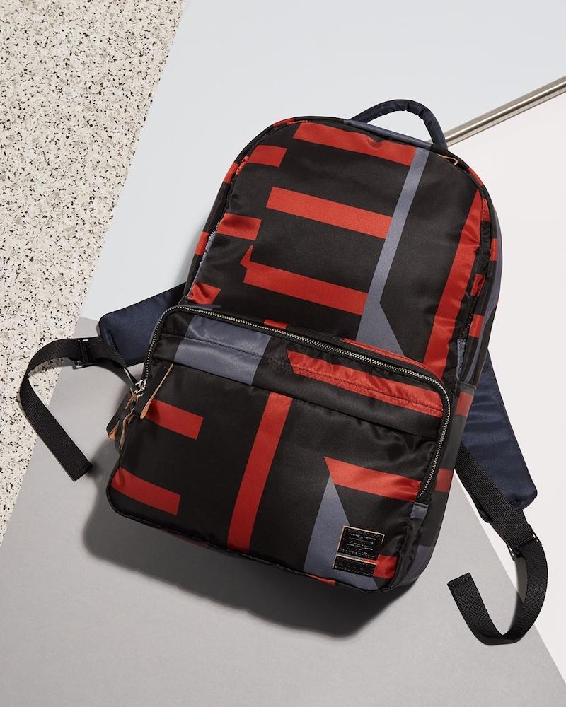 Marni X Porter Block-Print Backpack