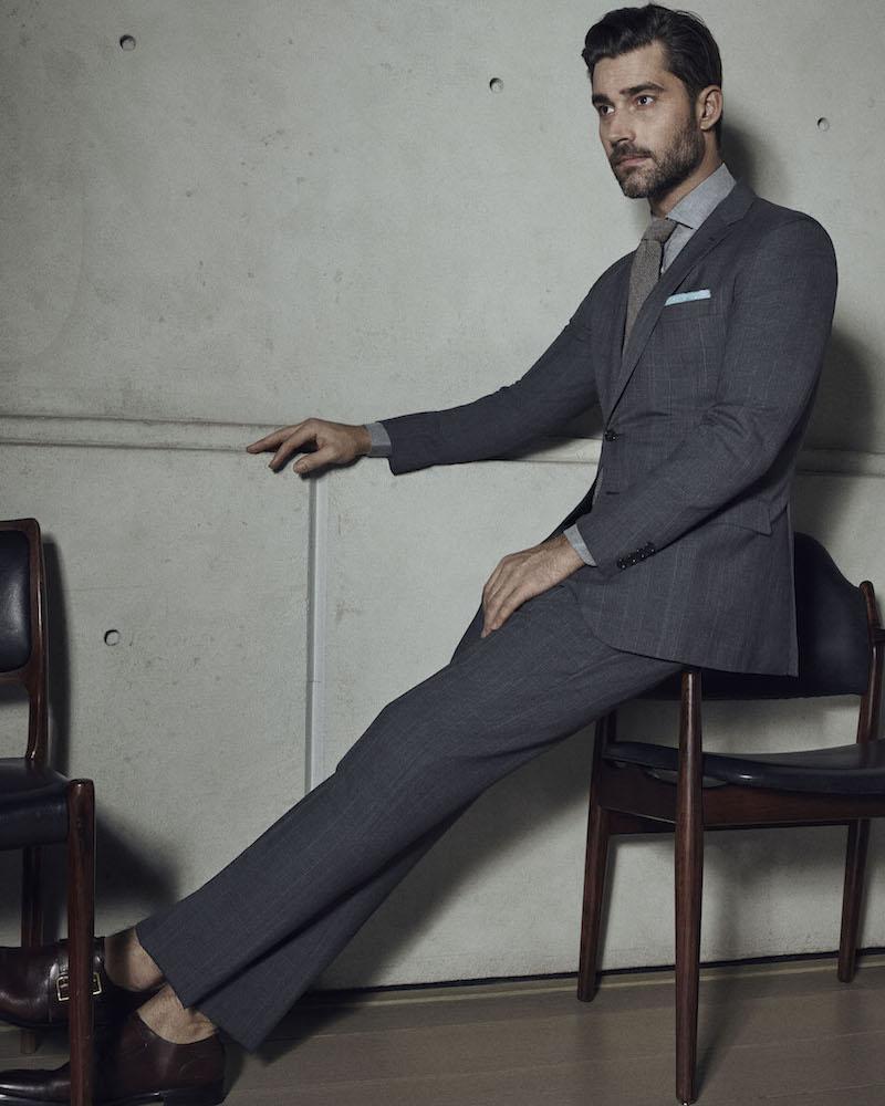 Ralph Lauren Purple Label Nigel Wool Two-Button Suit