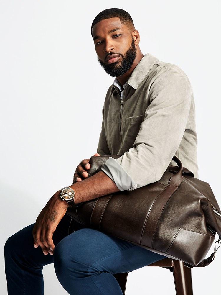 Shinola Large Leather Carryall Duffle Bag