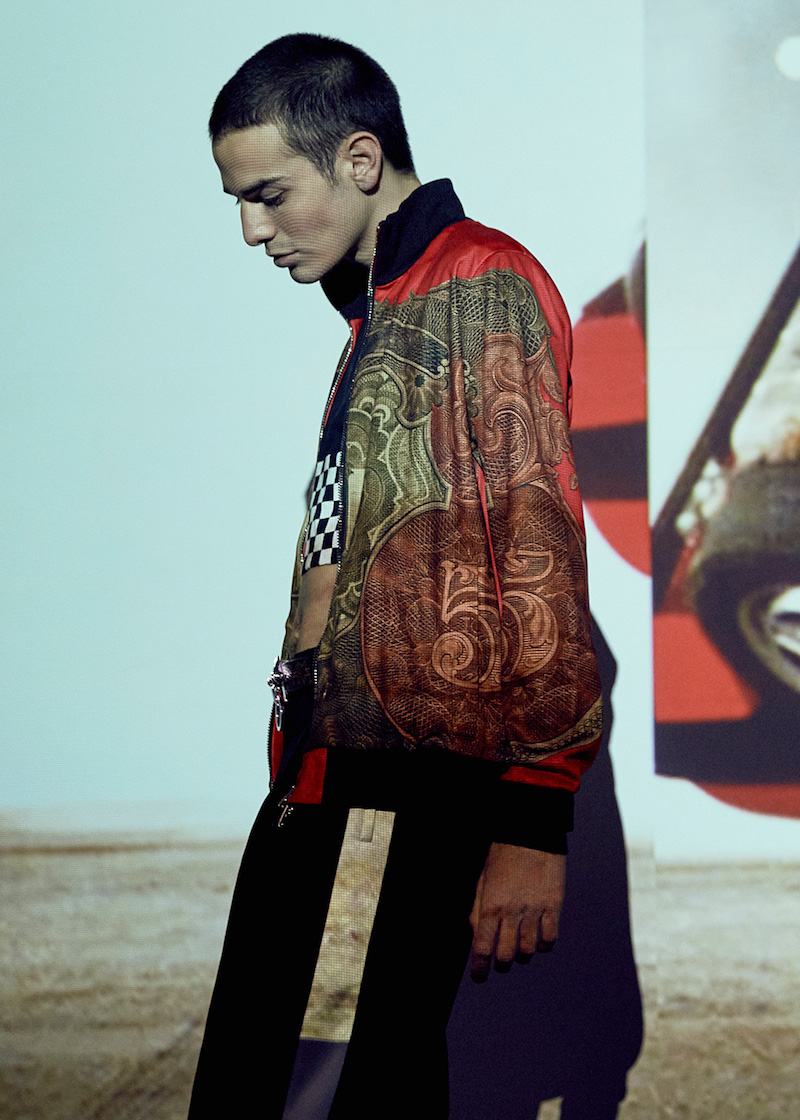 Givenchy Zipped Money Print Sweater
