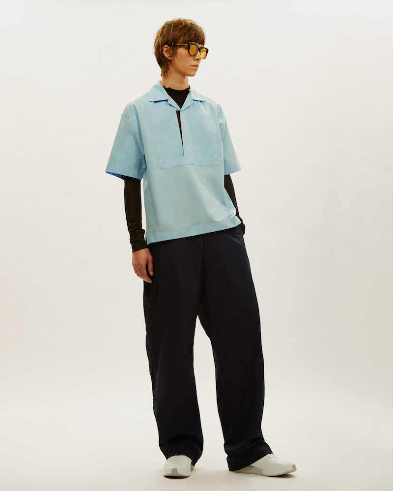Marni Boxy Short Sleeved Shirt