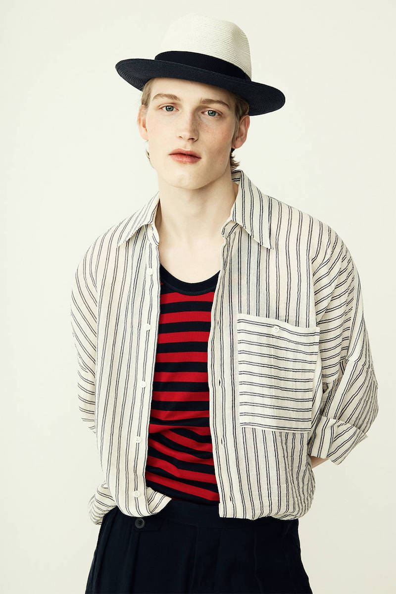 Vivienne Westwood Striped Cotton & Linen Canvas Shirt