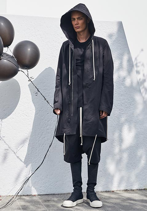 DRKSHDW by Rick Owens Fishtail Parka