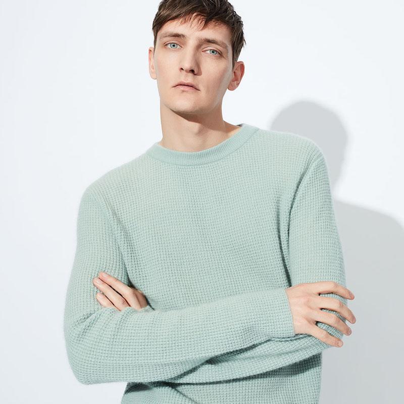 Raey Waffle-Knit Cashmere Sweater