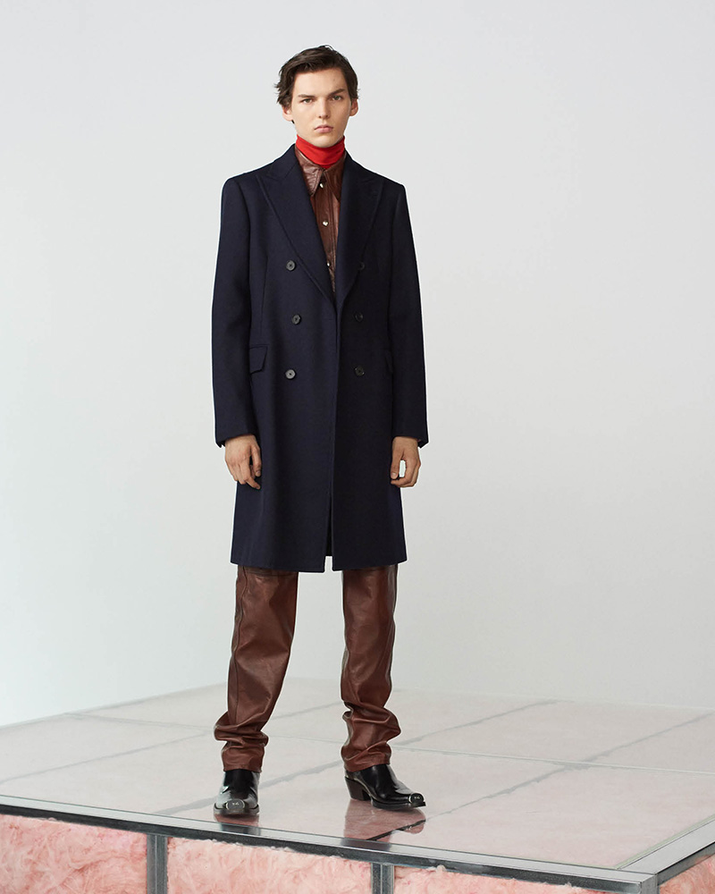 CALVIN KLEIN 205W39NYC Cotton Moleskin Coat