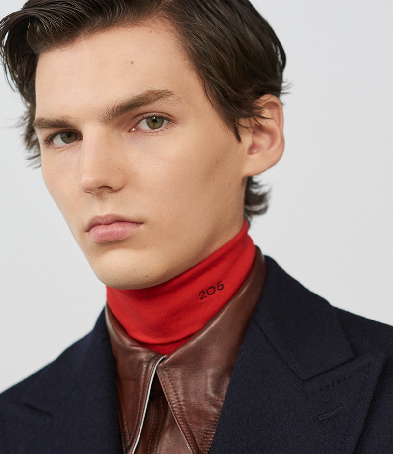 A New Frontier: CALVIN KLEIN 205W39NYC Fall 2017 Menswear Lookbook at Barneys New Yor