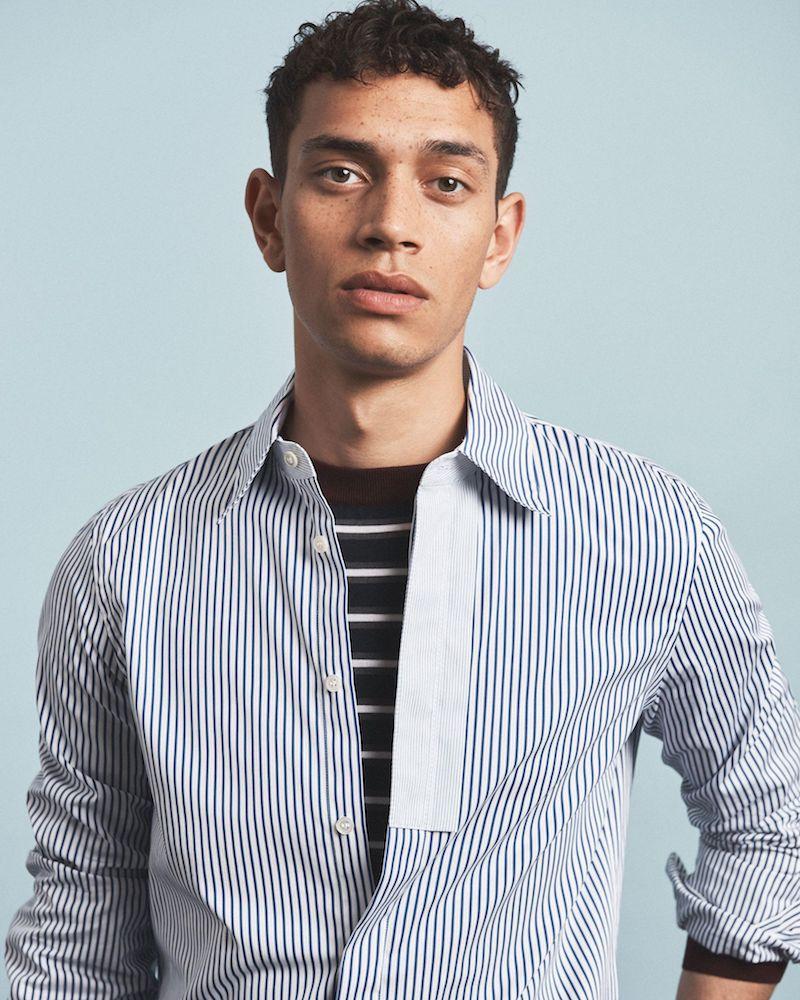 Marni Striped Single-Cuff Cotton-Poplin Shirt