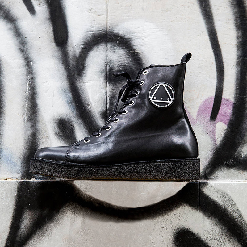 McQ Alexander McQueen McQ Logo High Top Leather Sneakers 1