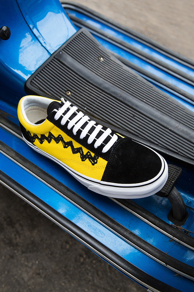 Vans x Peanuts Old Skool Charlie Brown Sneakers