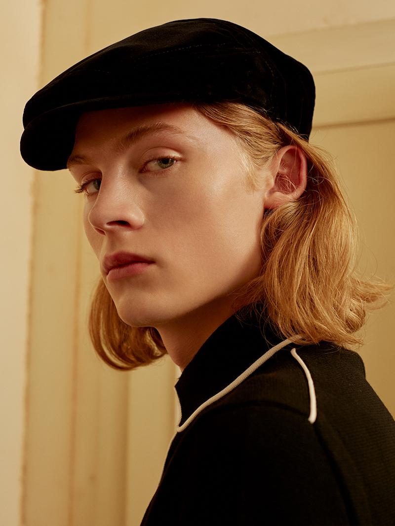 Dolce & Gabbana Cotton Velvet Flat Cap