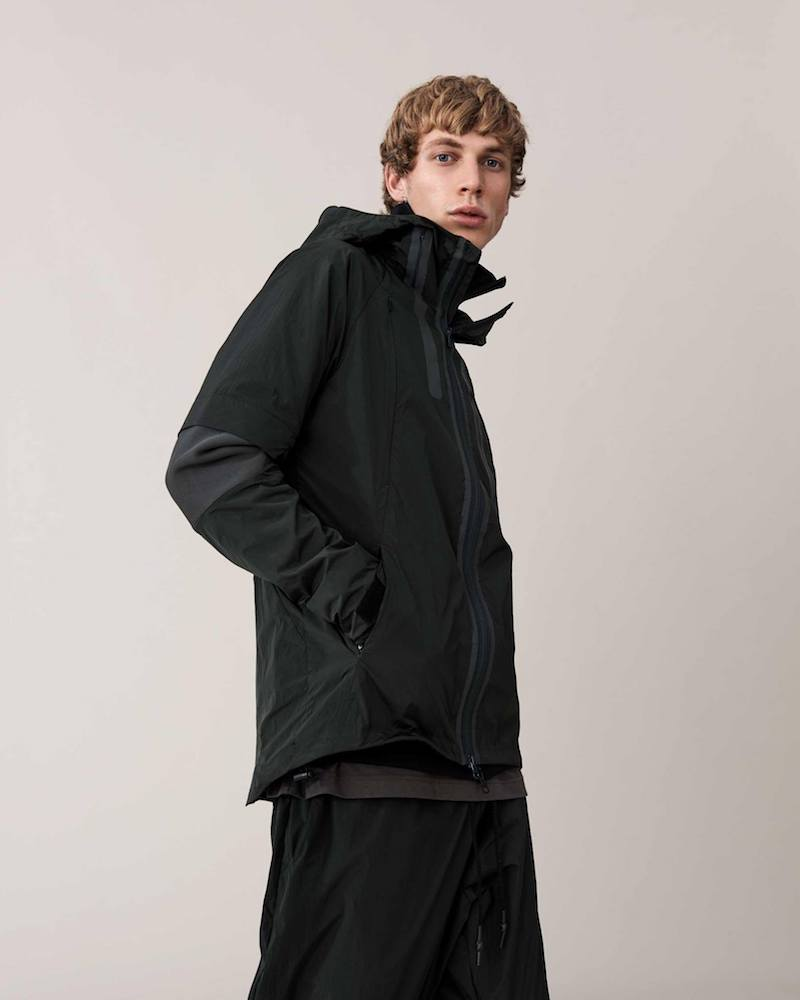 Y-3 High-Neck Quilted Down Jacket