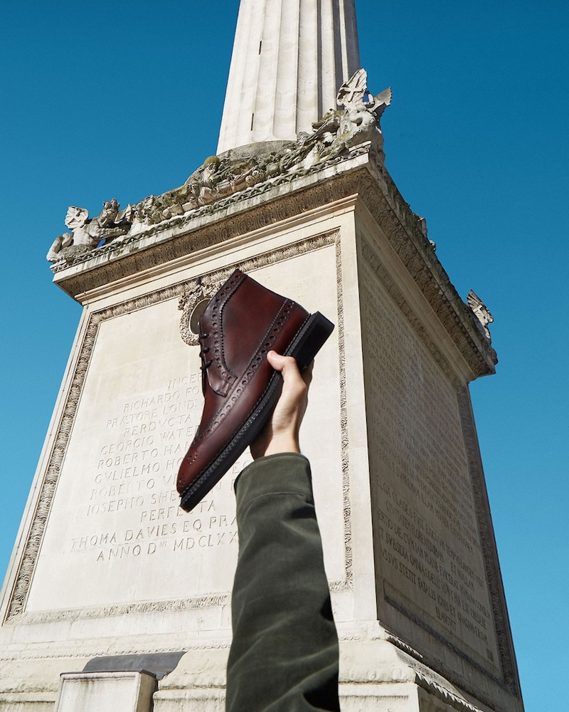 Burberry Wilmont Leather Brogue Boots