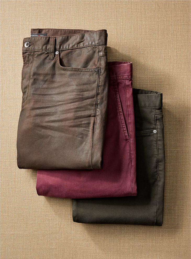 Colorful Chinos and Jeans