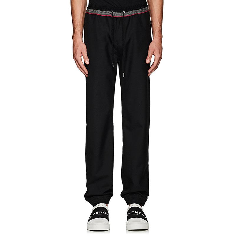 Givenchy Wool-Blend Jogger Pants