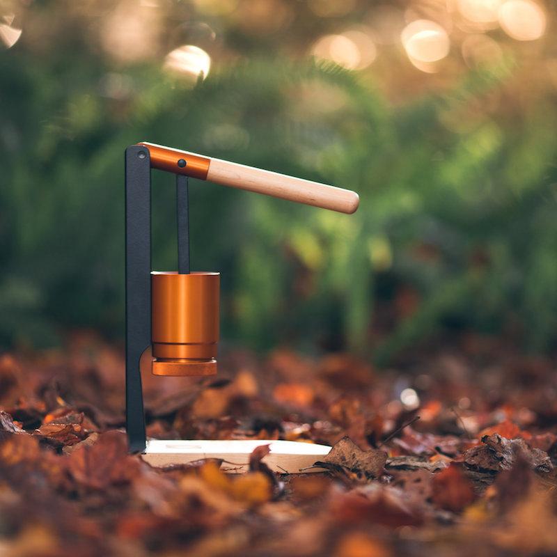 Newton Espresso: Lever-Press Espresso Maker