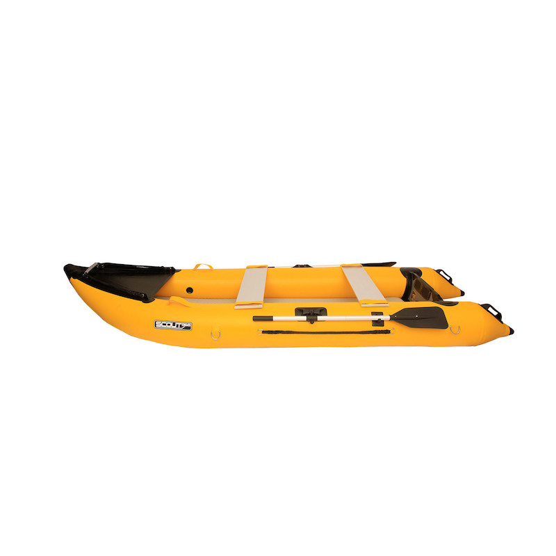Scout Inflatables Scout365 Portable Inflatable Boat Yellow
