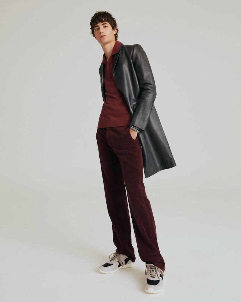 Valentino Straight-Leg Corduroy Trousers