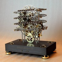 Shut Up and Take My Money // Chronomeans Rolling Ball Clock by ABRASAX Design Group