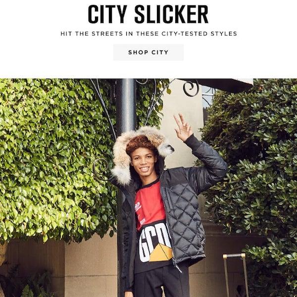 City Slicker: Men's Holiday Travels
