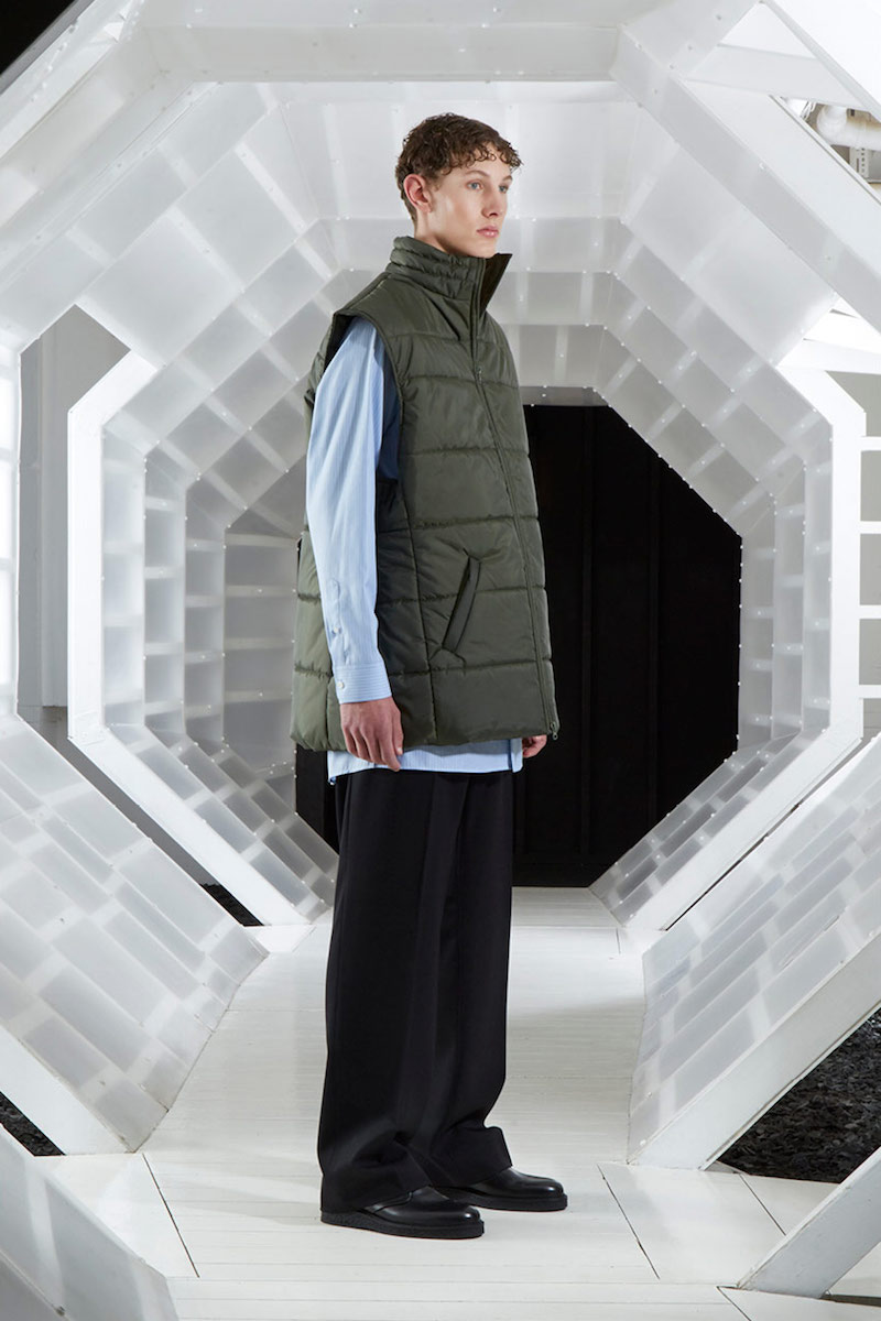 Martine Rose Oversized Padded Gilet Jacket