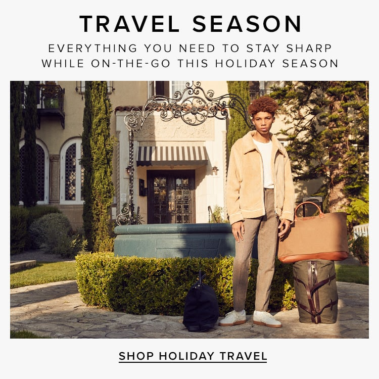 Travel Season. Everything you need to stay sharp while on-the-go this holiday season. Shop Holiday Travel.