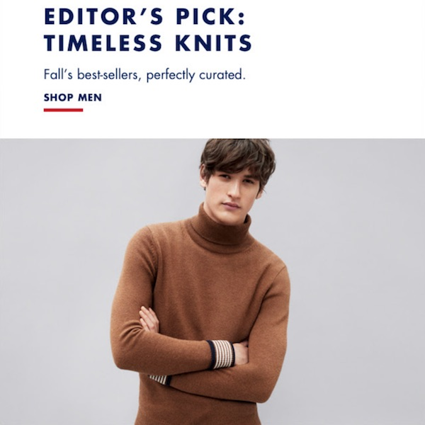 Tommy Hilfiger Fall 2017 Ultimate Men's Sweater Guide