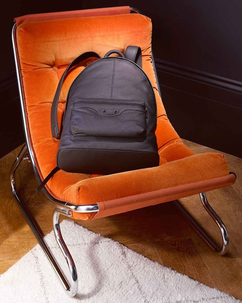 Balenciaga Classic Leather Backpack