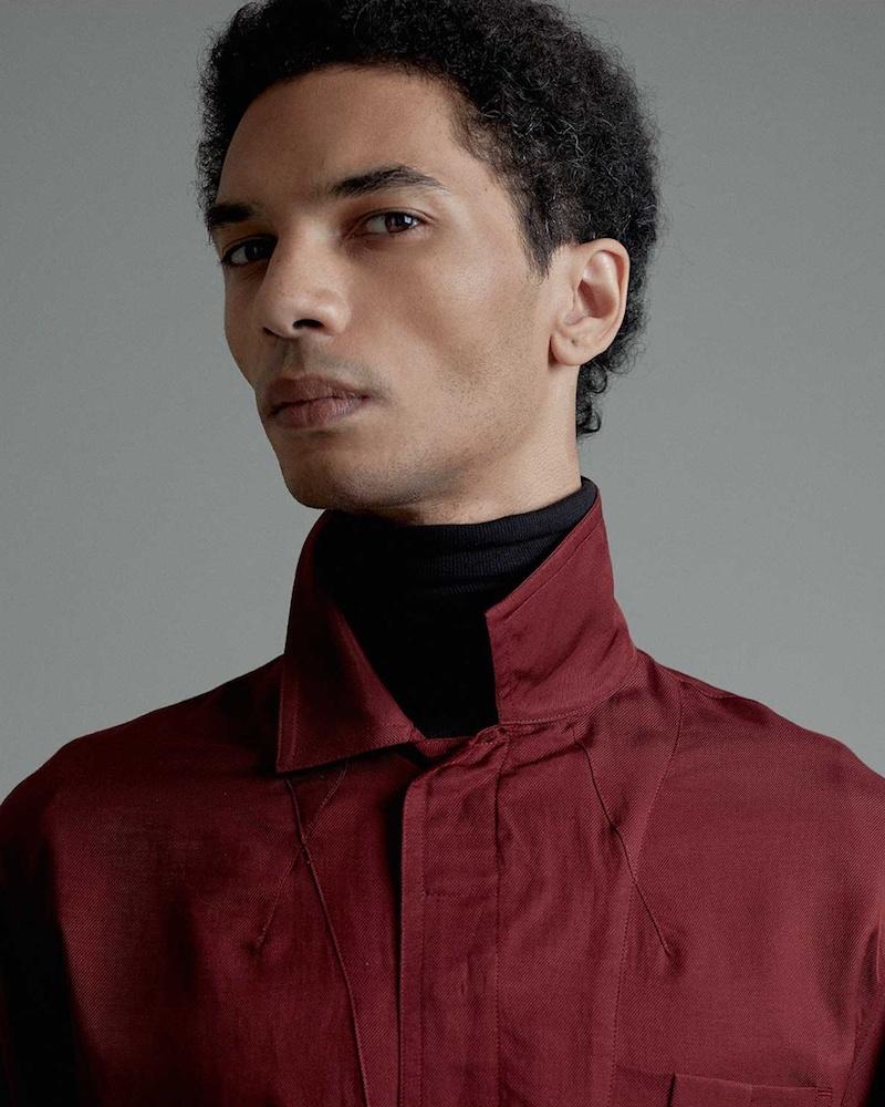 Haider Ackermann Single-Cuff Cotton-Blend Shirt