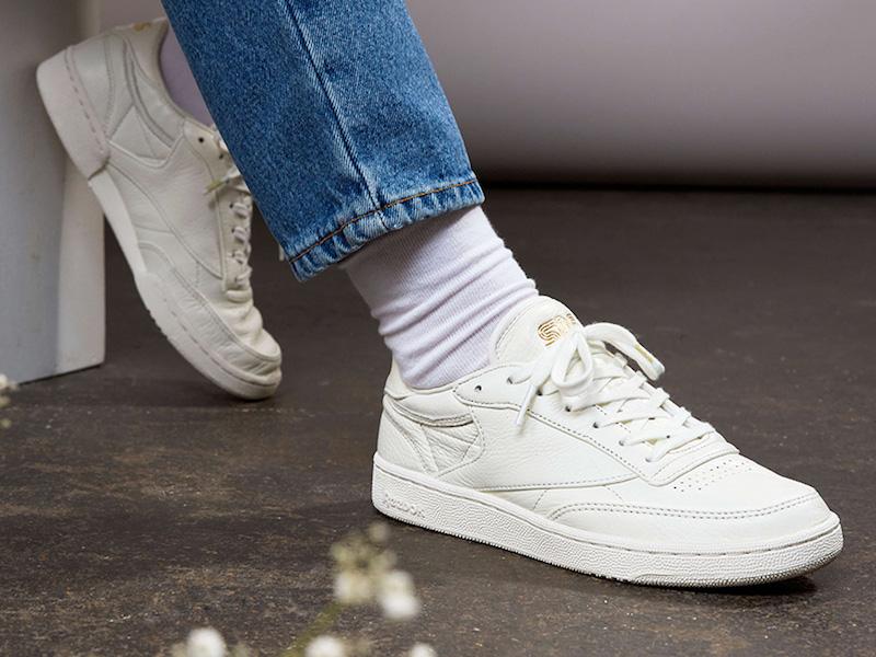"Sneakersnstuff x Reebok Club C 85 ""Premium"" Lookbook"