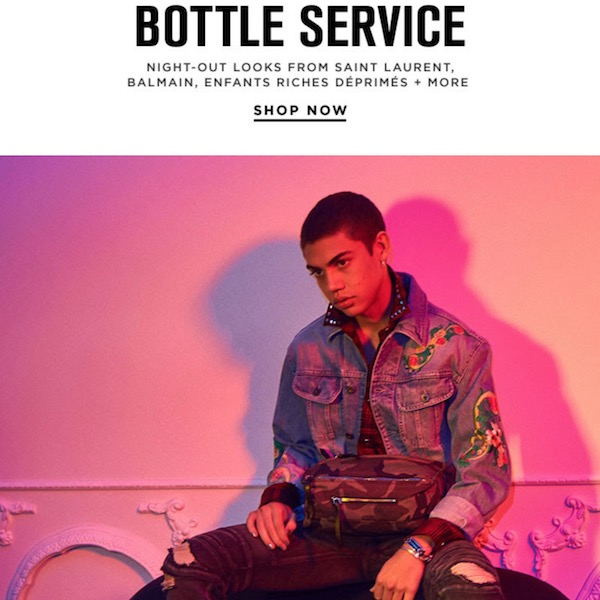 Bottle Service: Men's Night-Out Looks for Spring 2018