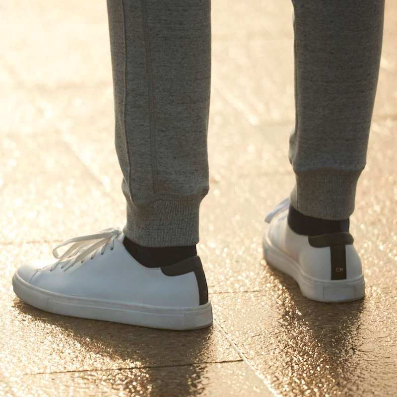 Club Monaco Leather Sneaker