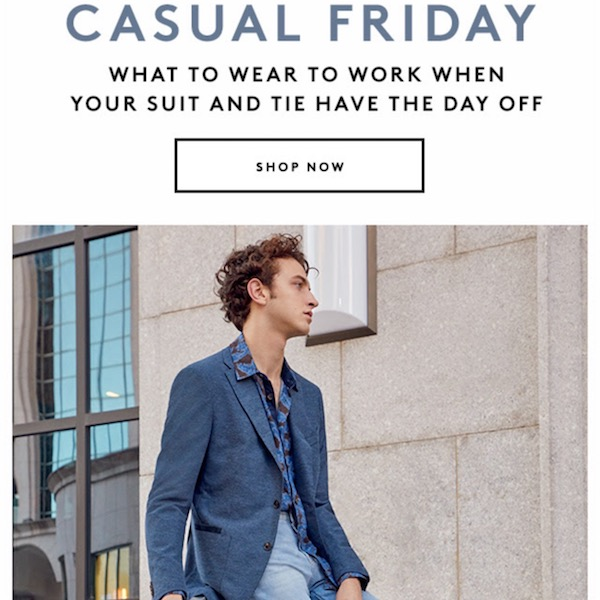 Casual Friday: Men's Low-Key Work Wardrobe