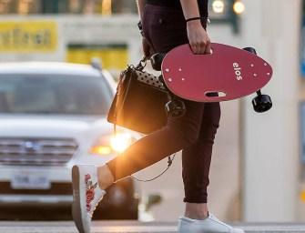 Elos Skateboard: Packable and Stylish Skateboard Last Mile Transportation