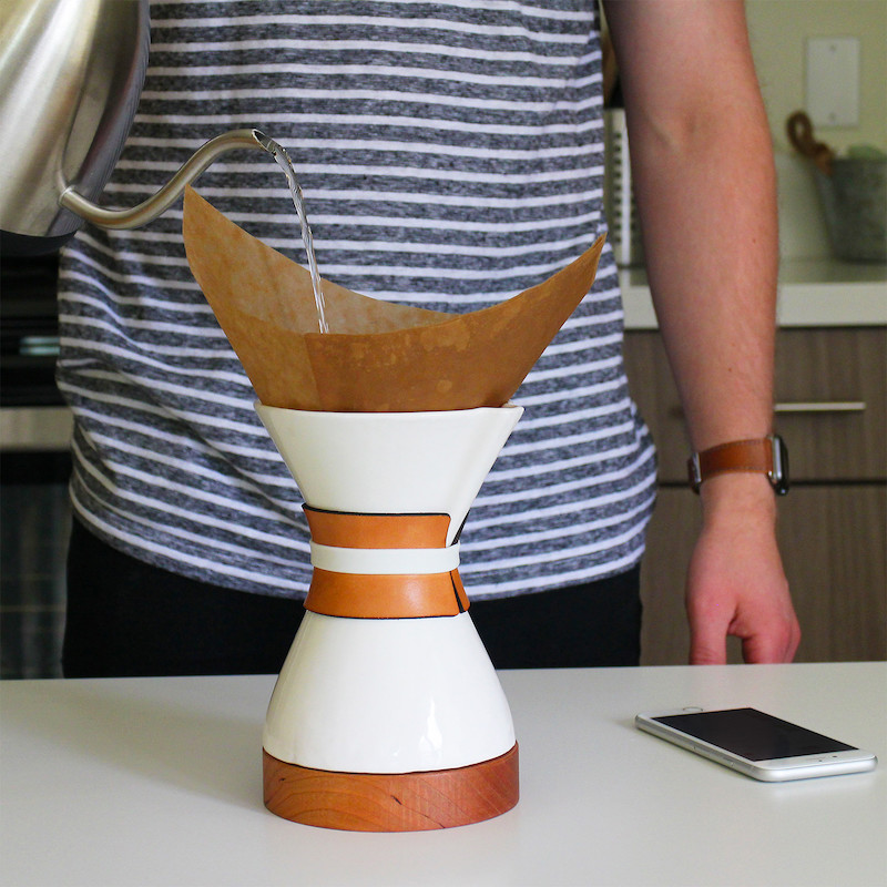 Cora Smart Pour Over Coffee Brewer