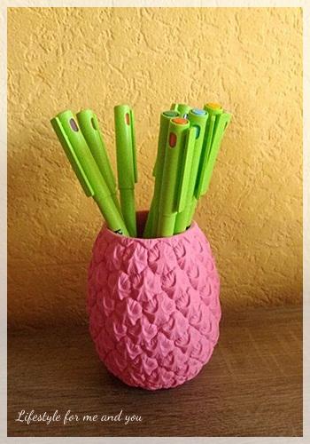 Frühlings Deko - Ananas