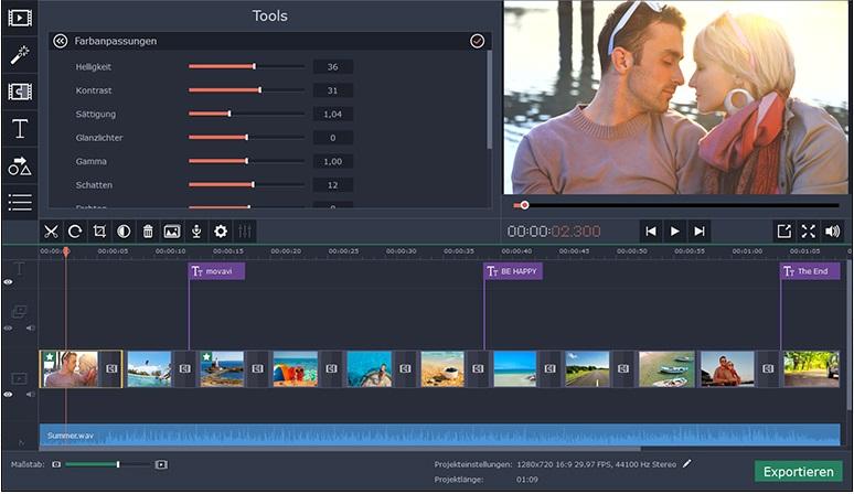 Movavi Video Maker
