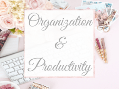 Organization& Productivity