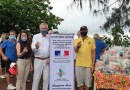Bonjour Phuket give food supplies to Rawai people who have been affected by covid-19