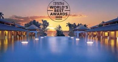 JW MARRIOTT PHUKET RESORT & SPA  VOTED TOP 10 SOUTHEAST ASIA RESORT HOTELS  BY TRAVEL + LEISURE WORLD'S BEST AWARDS 2020