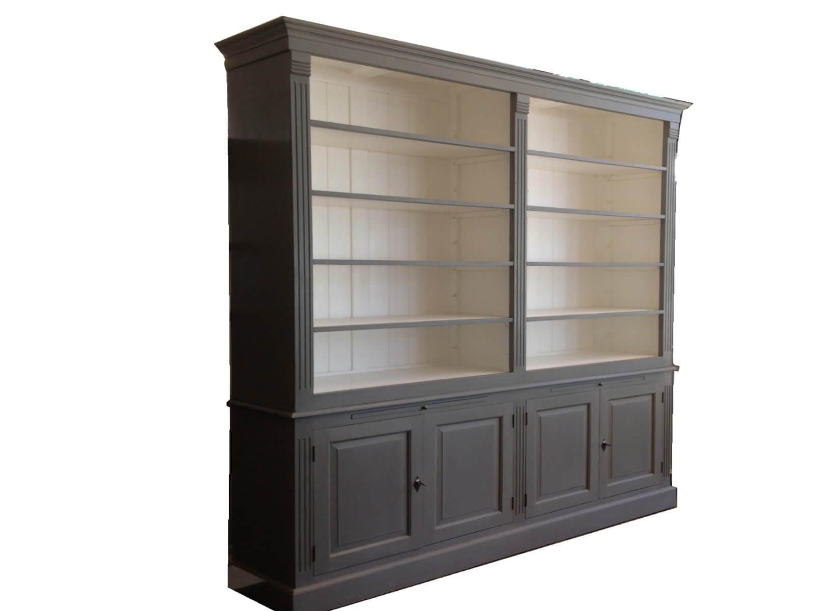 woonkamer landelijk boekenkast