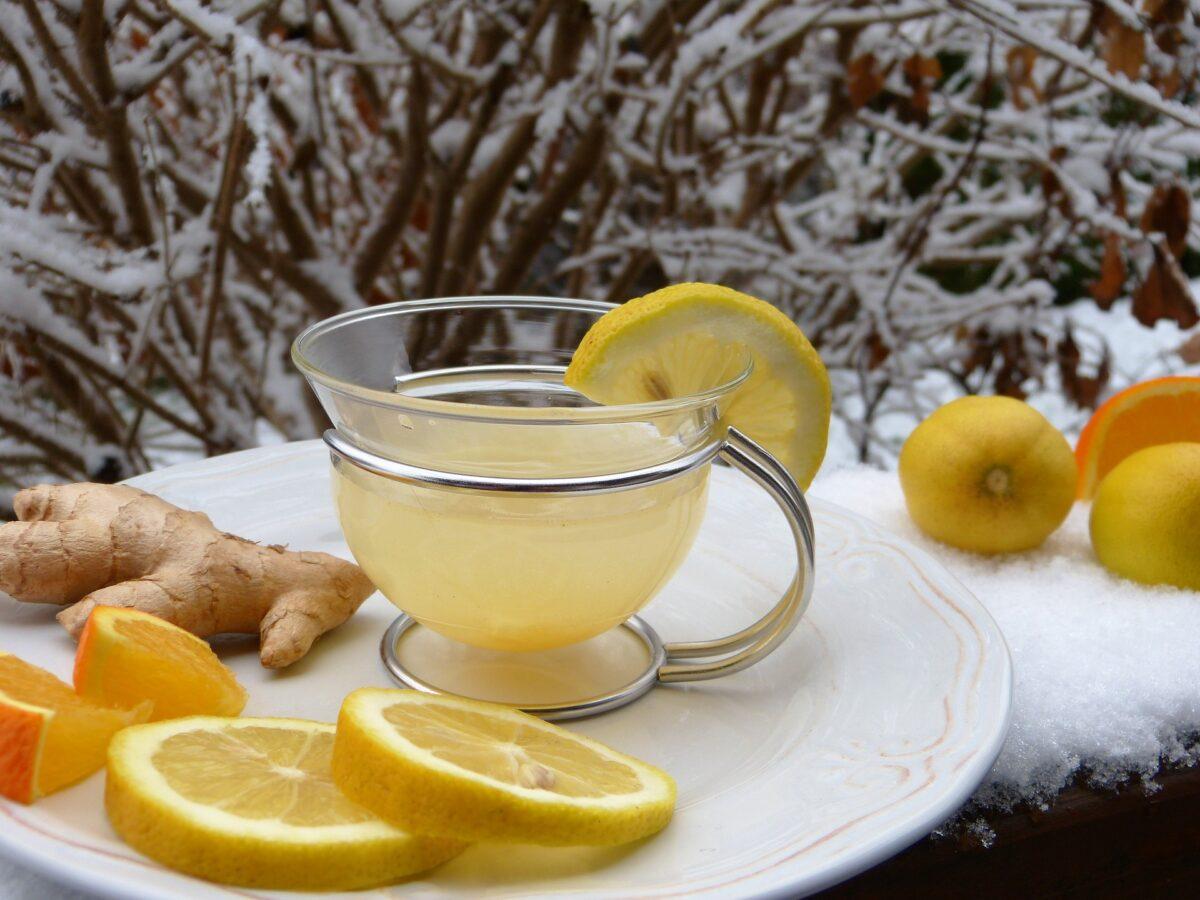 Anti-Inflammatory Ginger Turmeric Tea