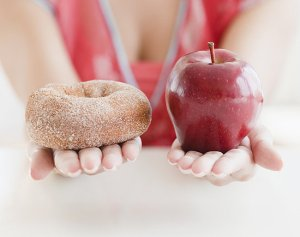 doughnut vs apple
