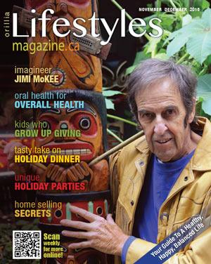 Orillia Lifestyles November December 2015 cover